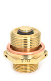 Aviation Oil Valves: Lock Open & Two-Piece | Saf-Air - F10